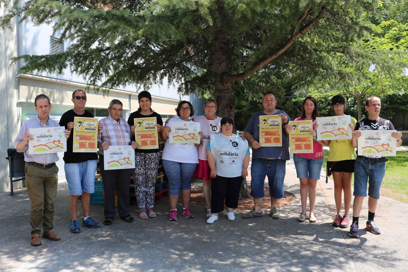 Els jardins de l'Associació Alba acolliran dijous una caragolada solidària a càrrec de l'Aplec del Caragol