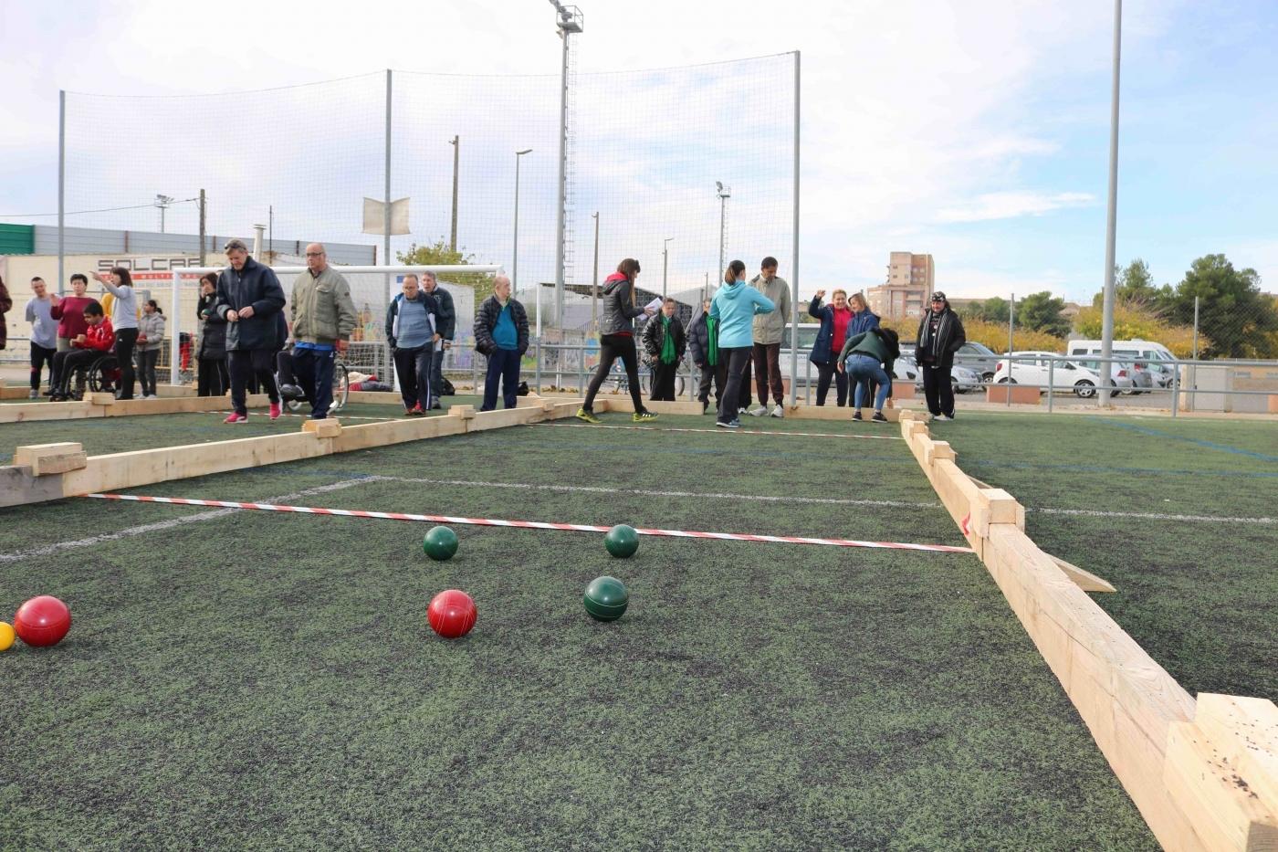 Organitzem el primer torneig provincial de Bocce a Tàrrega.