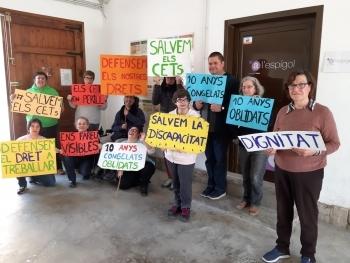 400 persones de les entitats de la Federació ALLEM es manifestaran l'11 d'abril a Barcelona per reclamar finançament urgent al Govern
