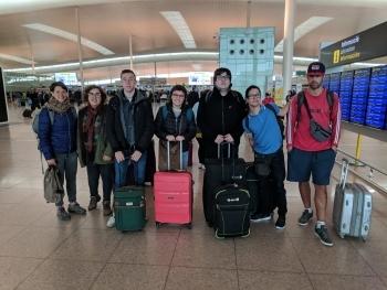 Marxa a Alemanya un grup de 5 joves amb discapacitat a fer pràctiques laborals a través del programa TLN Mobilicat que gestiona el Grup Alba.