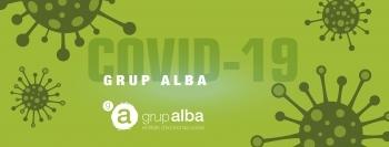 Mesures excepcionals al Grup Alba per la situació del Coronavirus