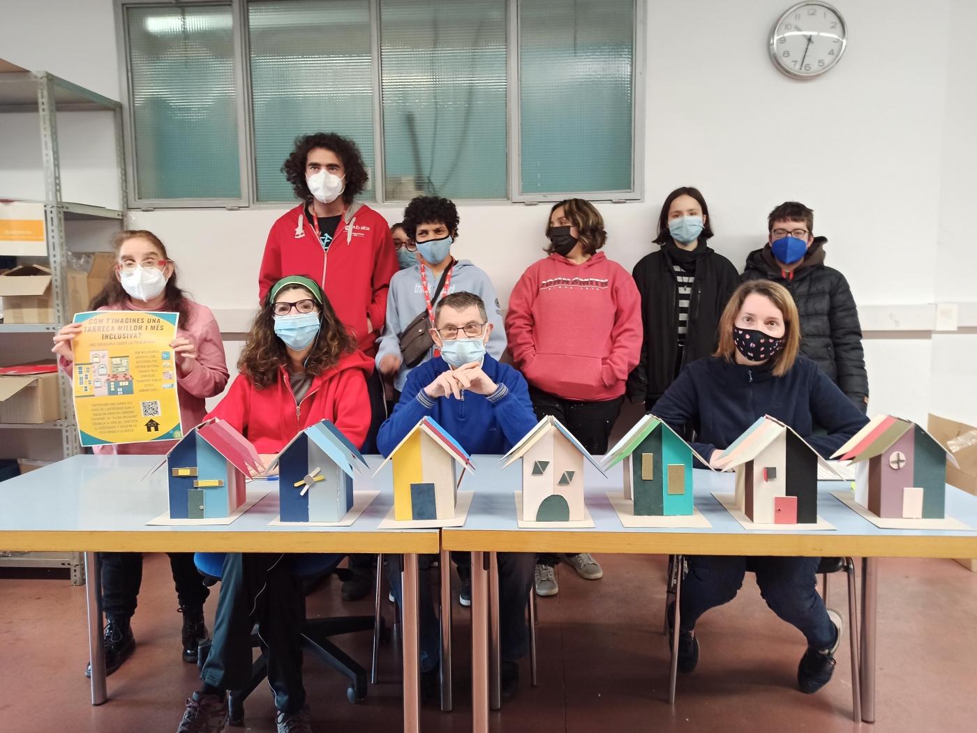 Un grup de joves del Grup Alba impulsen una iniciativa participativa per recollir idees per fer de Tàrrega una ciutat més inclusiva.