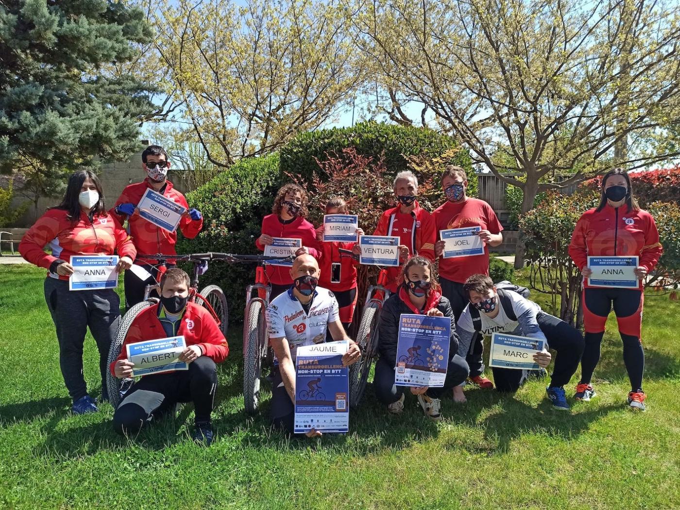 L'esportista Jaume Rovira i el Consell Esportiu de l'Urgell impulsen del 16 al 25 d'abril la ruta solidària Transurgellenca a favor del Grup Alba.