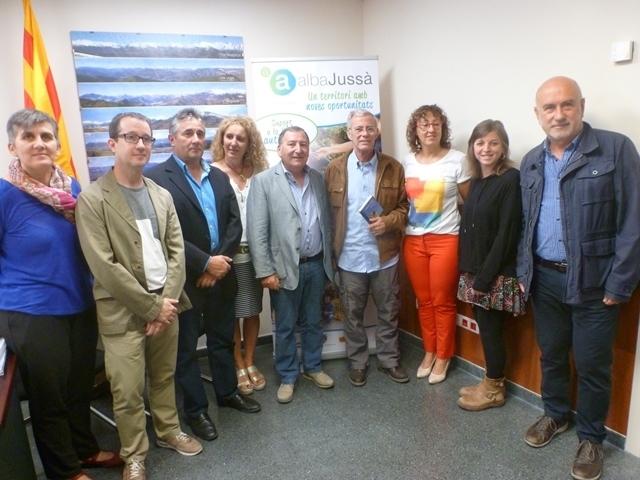 Conveni de col·laboració entre l'Associació Alba i el Consell Comarcal del Pallars Jussà