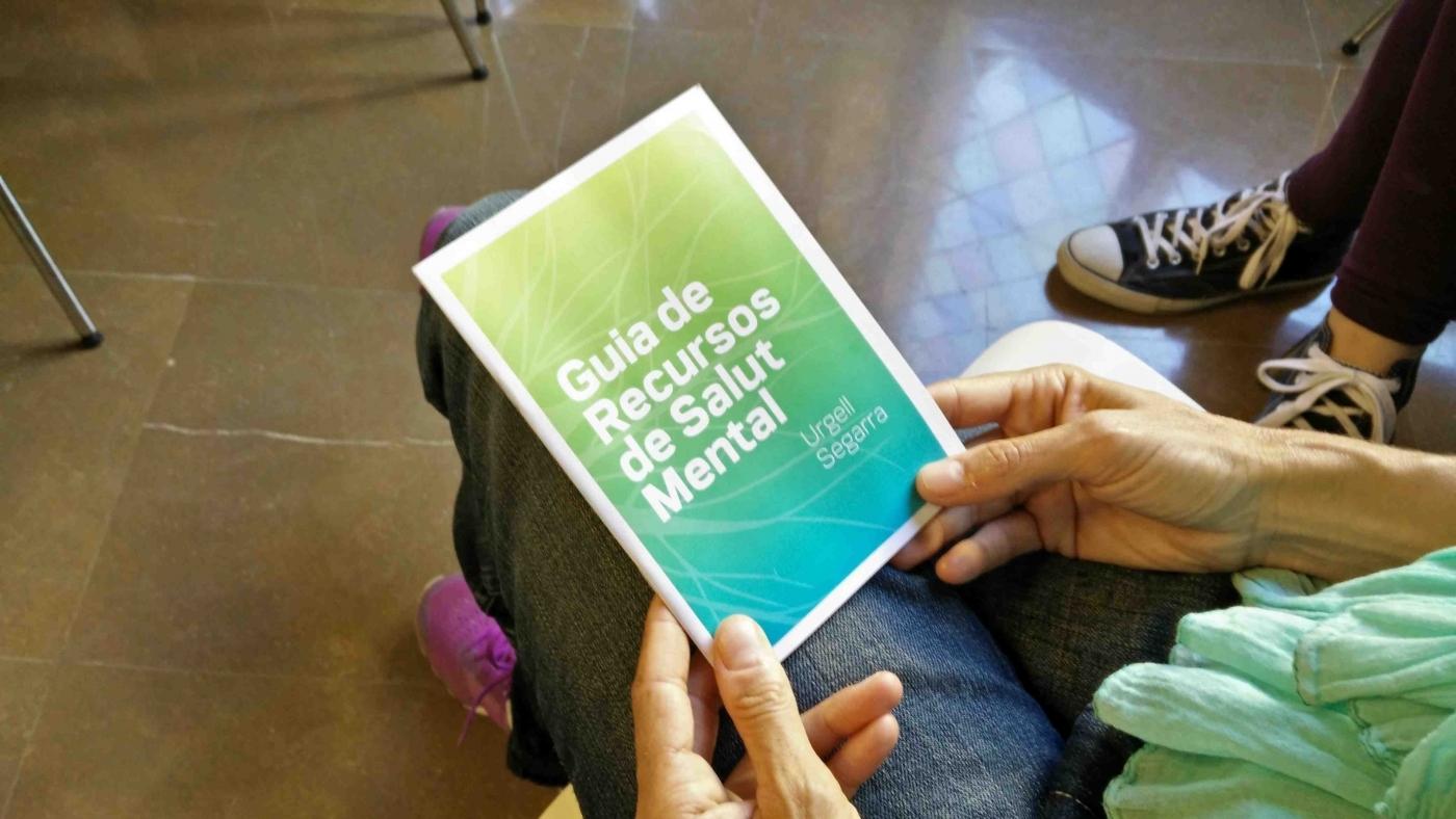 Presentem la primera Guia de Recursos de Salut Mental de l'Urgell i la Segarra