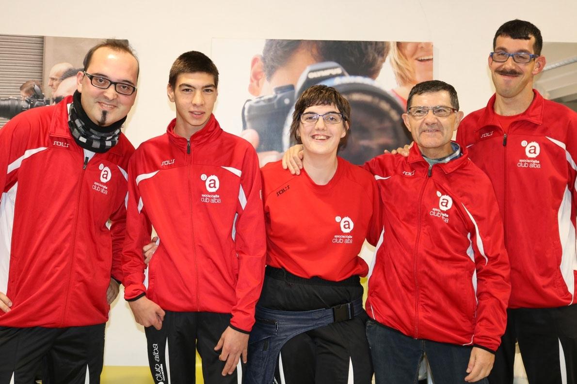 Cinc esportistes de l'Associació Alba participen en els Special Olympics
