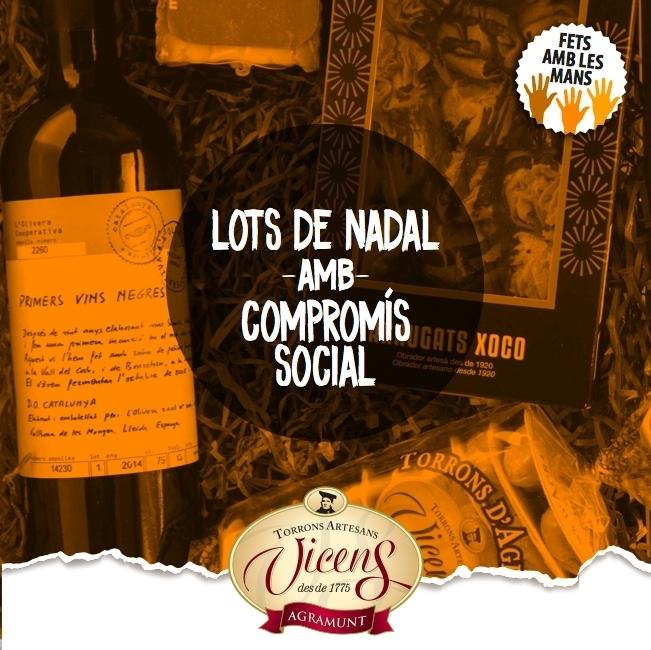 Torrons Vicens s'ajunta amb quatre projectes socials, entre ells l'obrador El Rosal de l'Associació Alba, per crear un lot de Nadal  amb compromís social