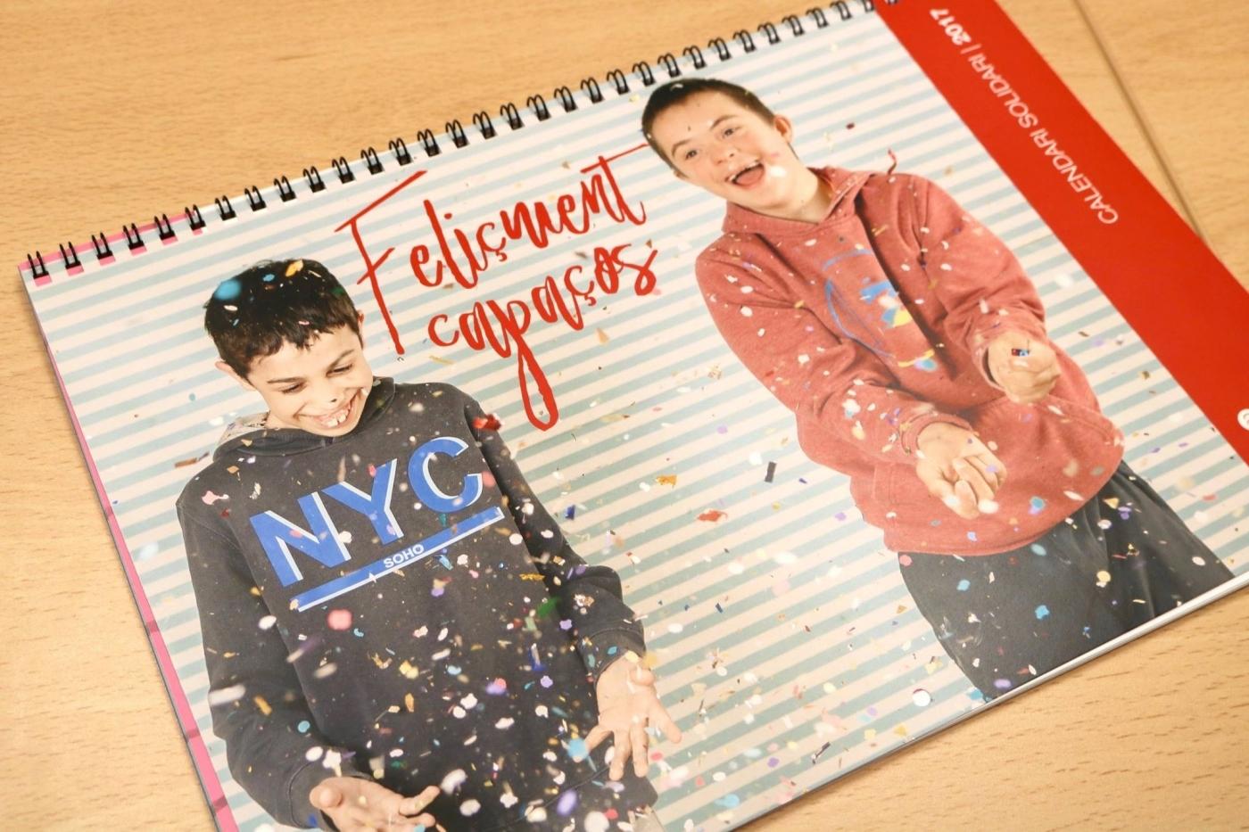 """""""Feliçment capaços"""" Nou calendari solidari d'Escola Alba"""