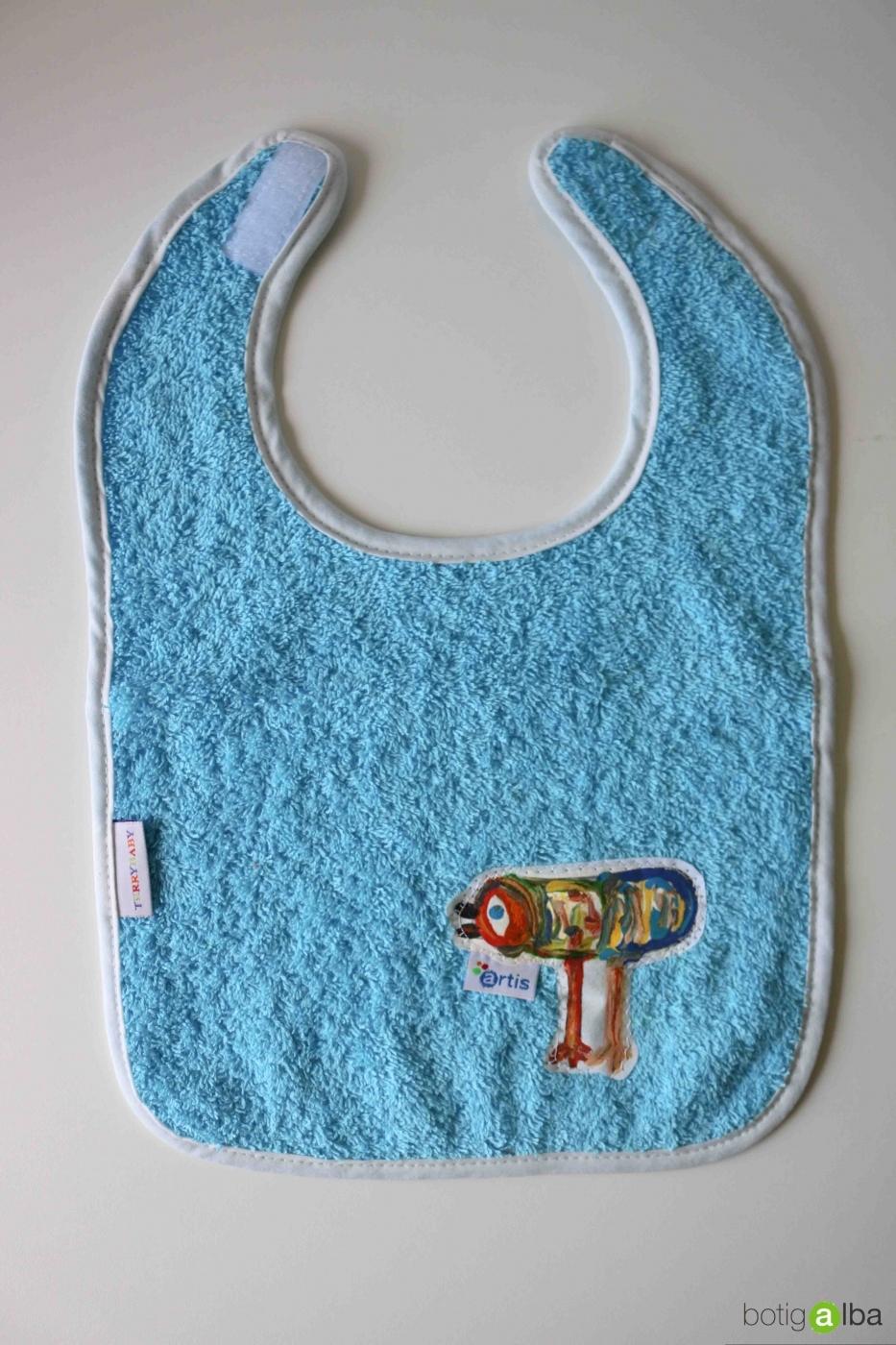 BABERO INFANTIL AZUL