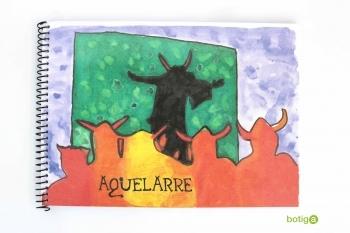 LIBRETA ESPIRAL AQUELARRE A5