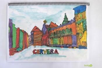 LIBRETA ESPIRAL PLAZA UNIVERSIDAD CERVERA A4