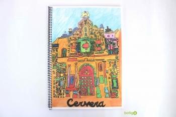 LIBRETA ESPIRAL UNIVERSIDAD CERVERA A4