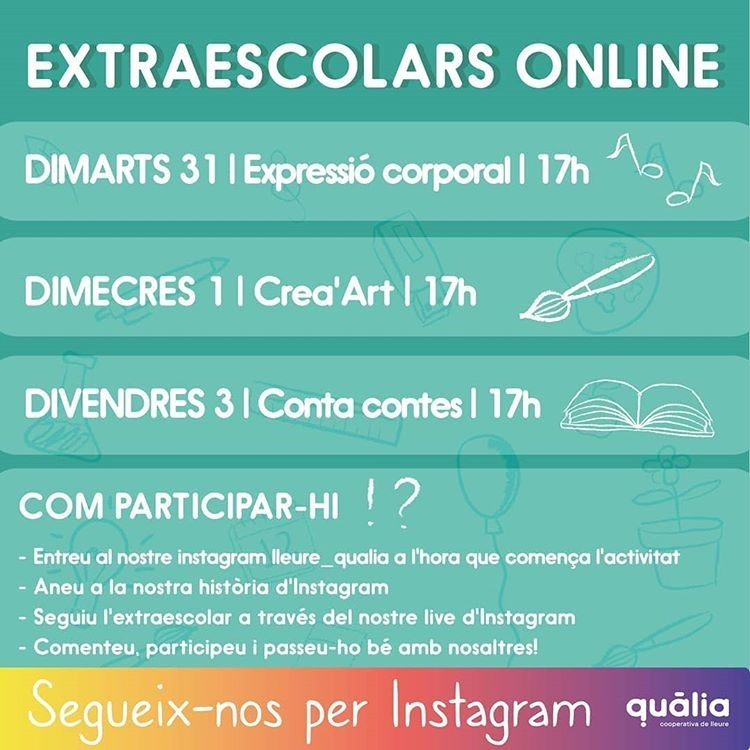 Extraescolars qualia online