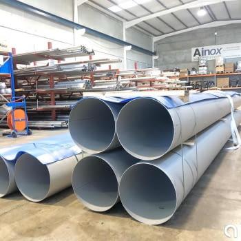 Suministro de tubería de 400mm de diámetro
