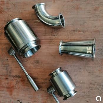 Válvulas y accesorio alimentario - conexión Clamp