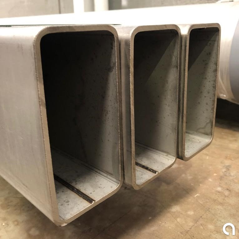Tubo Rectangular Estructural 160x80x5