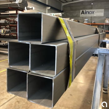 Tubo Estructural  120mm X 120mm Acero Inoxidable