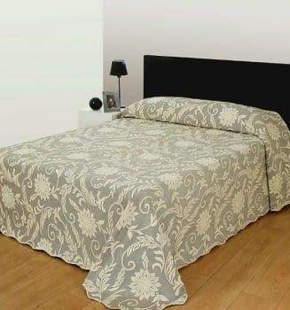 Colchas Reversible marrón cama 135 - 2