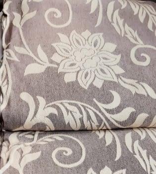 Colchas Reversible marrón cama 135 - 5