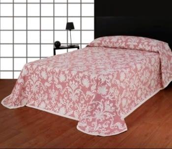 Colchas Reversibles rosa cama 135