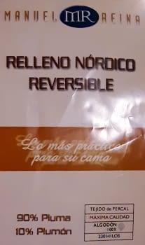 Relleno nórdico Plumas + FUNDA ALMOHADA - 3