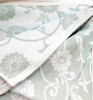 Colcha Reversible verde cama 120/135