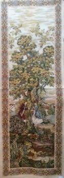 Tapiz dama y flor 75 x 220 cm