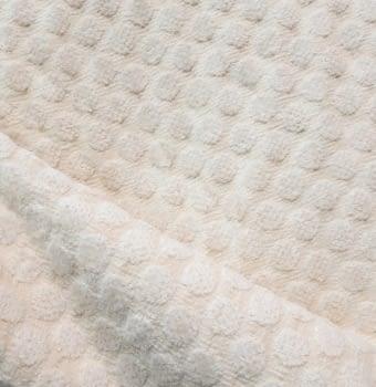 Tela Tapicería círculos beige