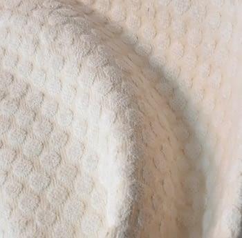 Tela Tapicería círculos beige - 5