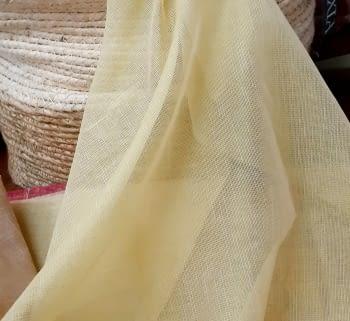 Tela Visillo amarillo