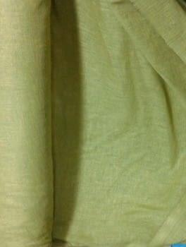 Tela Visillo lino verde