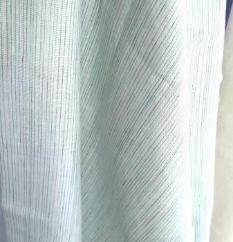 Tela Visillo lino verde agua