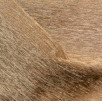 Tela Chenilla marrón 140