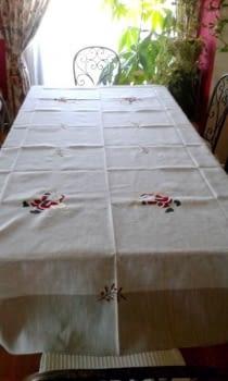 Mantelería Papá Noel 1,80 x 3,15 metros - 4