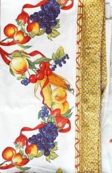Mantelería Frutas 150 x 150 + 6 - 2