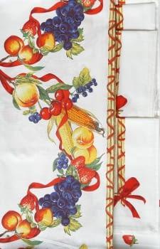 Mantelería Frutas 150 x 150 + 6 - 3