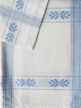 Mantelería azul 150 x 300 + 12