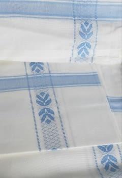 Mantelería azul 150 x 300 + 12 - 1