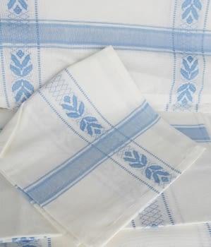 Mantelería azul 150 x 300 + 12 - 2