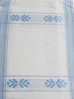 Mantelería azul 150 x 300 + 12 - 4