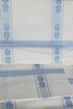 Mantelería azul 150 x 300 + 12 - 5