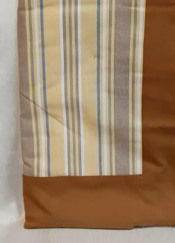 Mantelería rayitas marrón 180 x 225 + 8 - 3