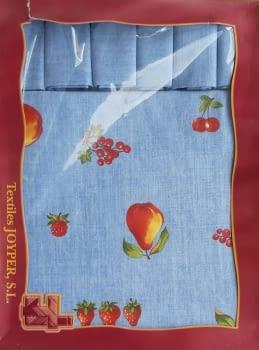 Mantelería Azul 150 x 150 + 6 - 2