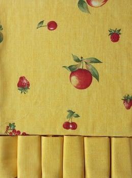 Mantelería Amarilla 150 x 150 + 6