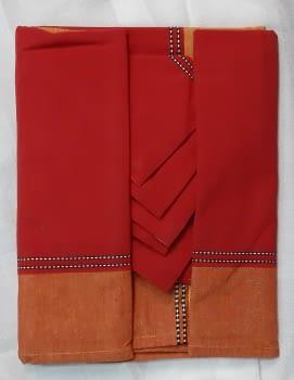 Mantelería Roja 150 x 150 + 6