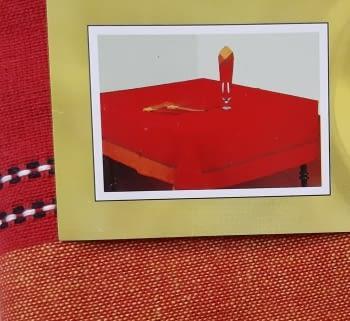 Mantelería Roja 150 x 150 + 6 - 1