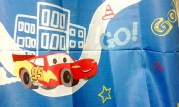 Cortina Cars azul - 3
