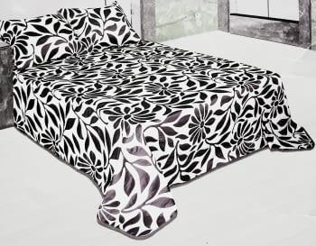 Colchas reversibles gris cama 150