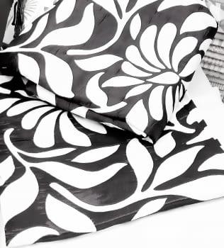 Colchas reversibles gris cama 150 - 3