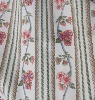 Tela algodón flores 140